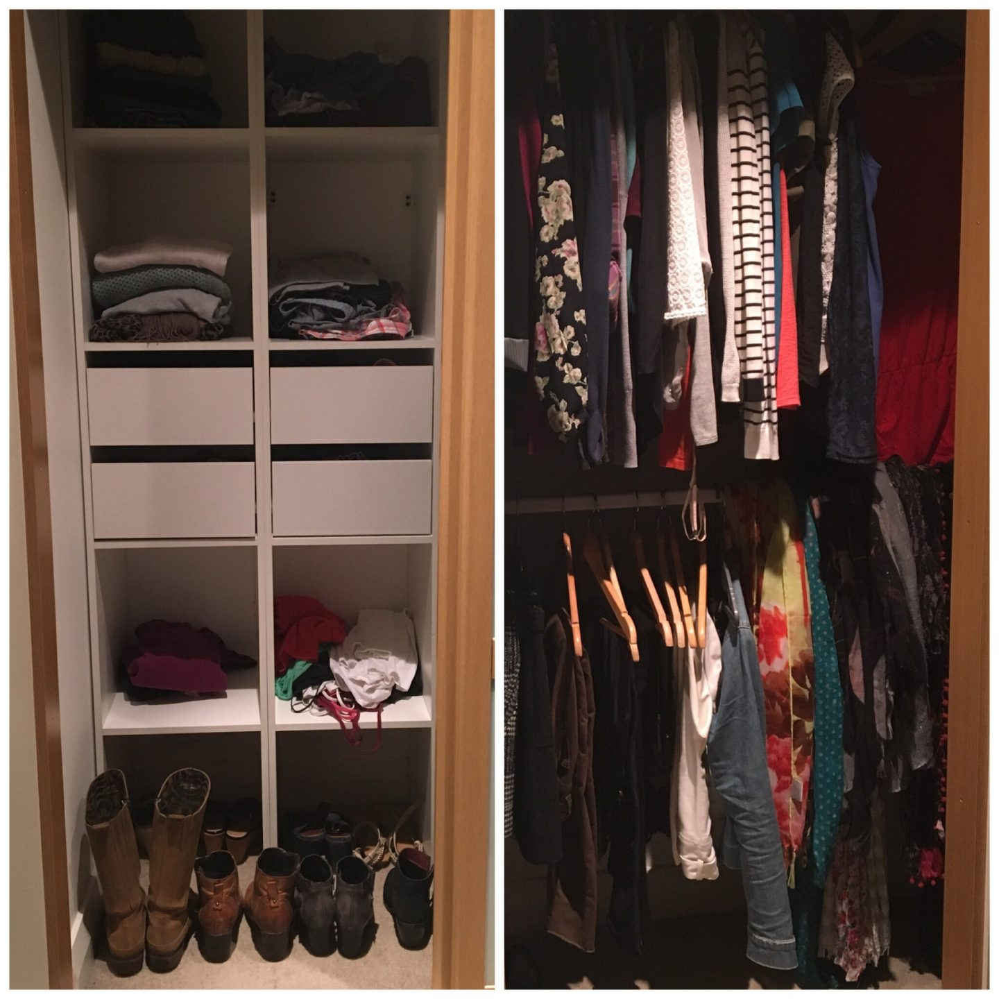 Purge to Splurge – A Wardrobe Overhaul