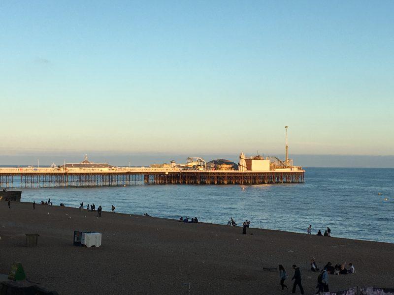 Sunset on Brighton Pier