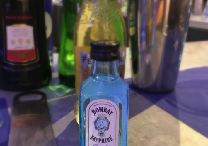 Bombay Sapphire Gin Distillery, Cocktail Making class, Celebrations for turning 50