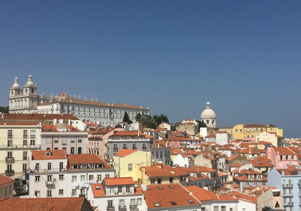rooftops ofLisbon
