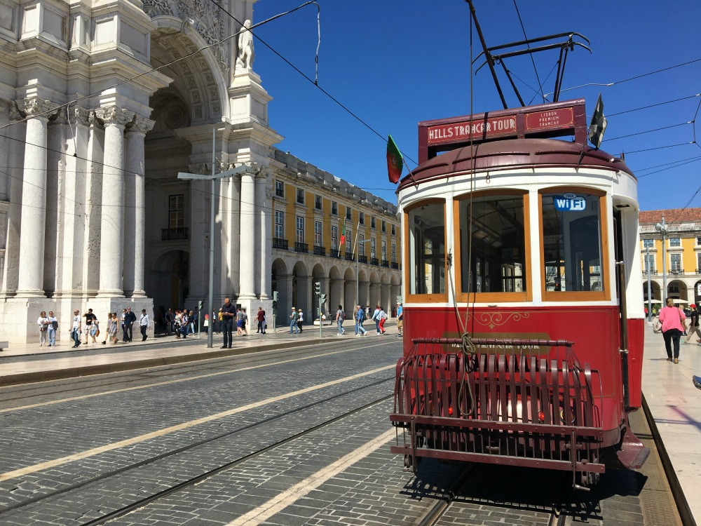 Tram tour Lisbon