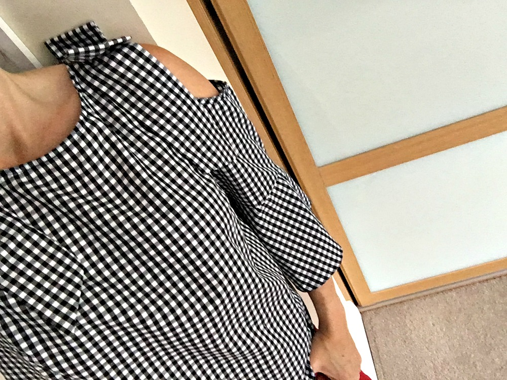 Gingham Top Miss Selfridge