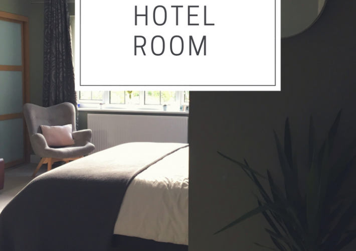 turning an ordinary bedroom into a hotel room
