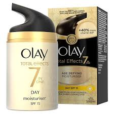 Olay total effects moisturiser