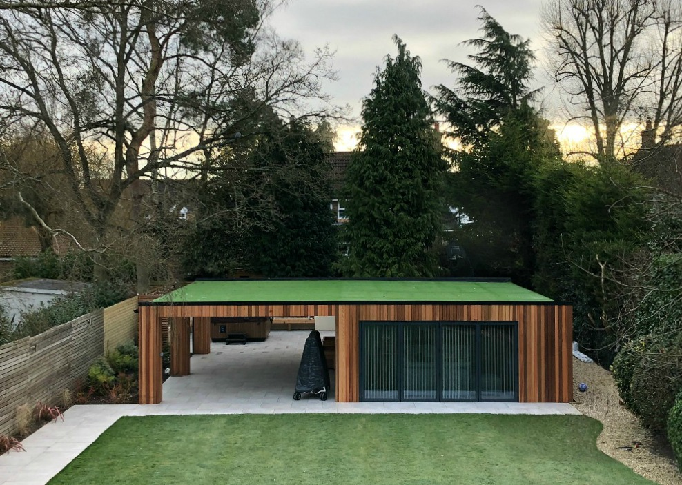 Creating Extra Space with a Contemporary Garden Room