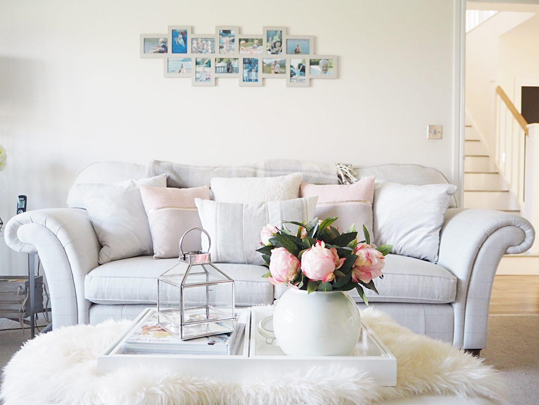 white bright lounge