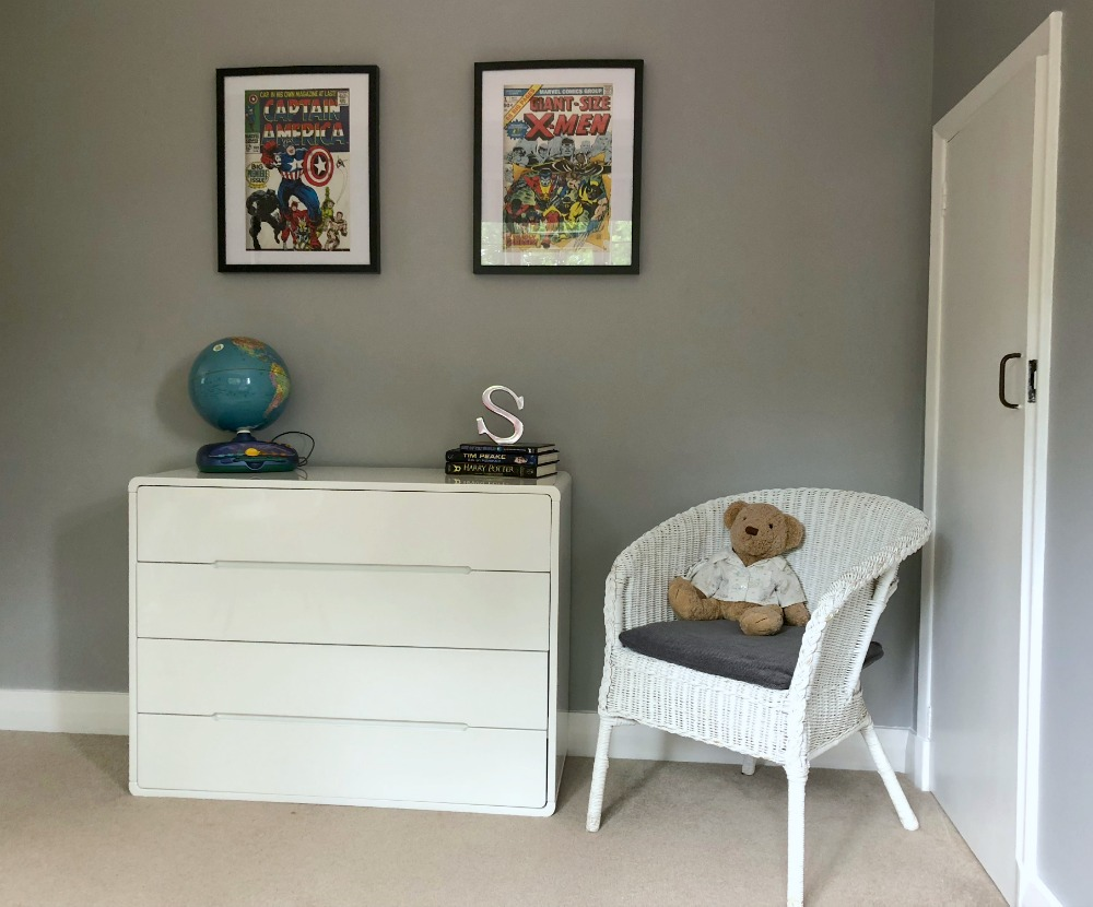 Chic Shadow Dulux Boy's bedroom