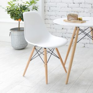White Eames Chair