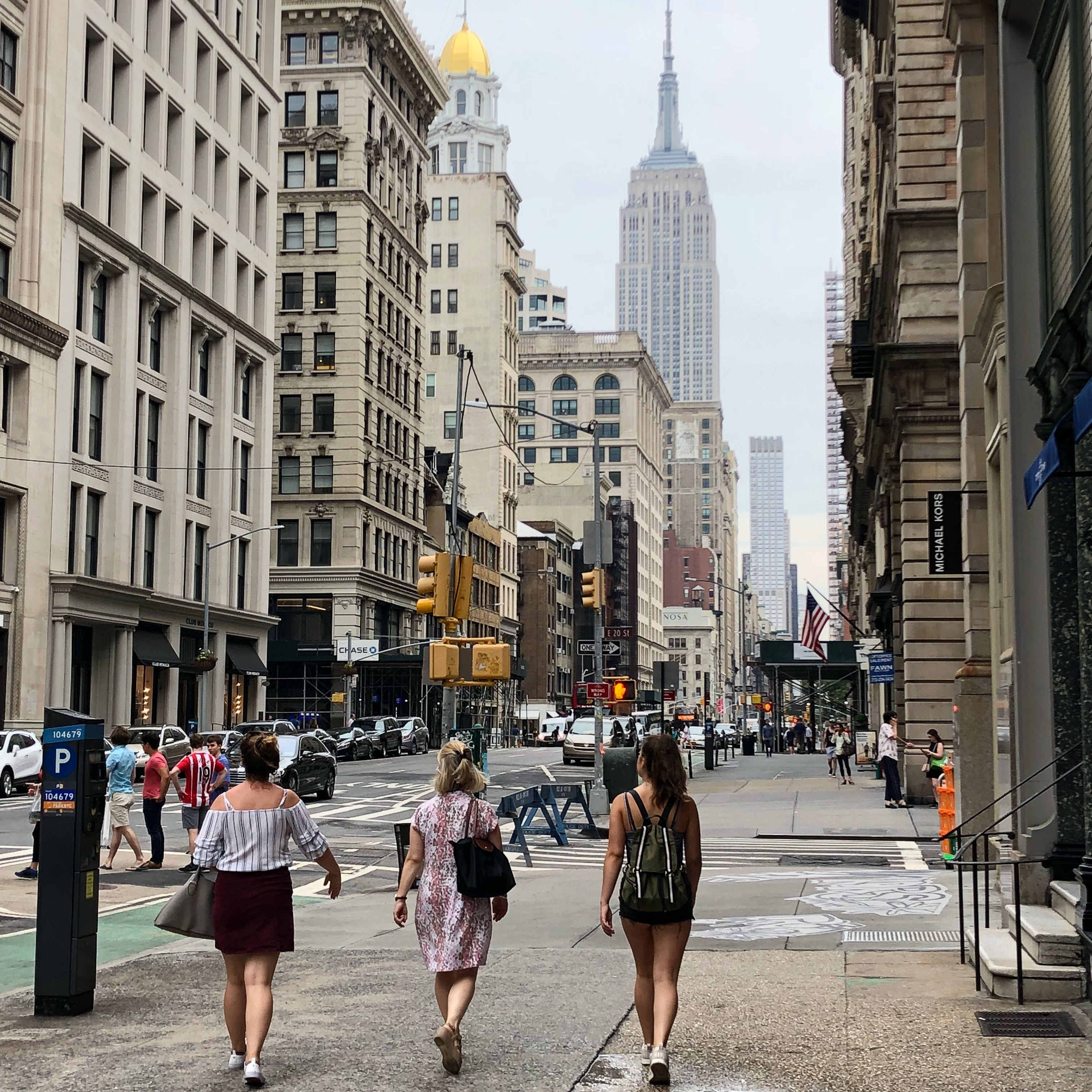 Shopping on 5th Avenue