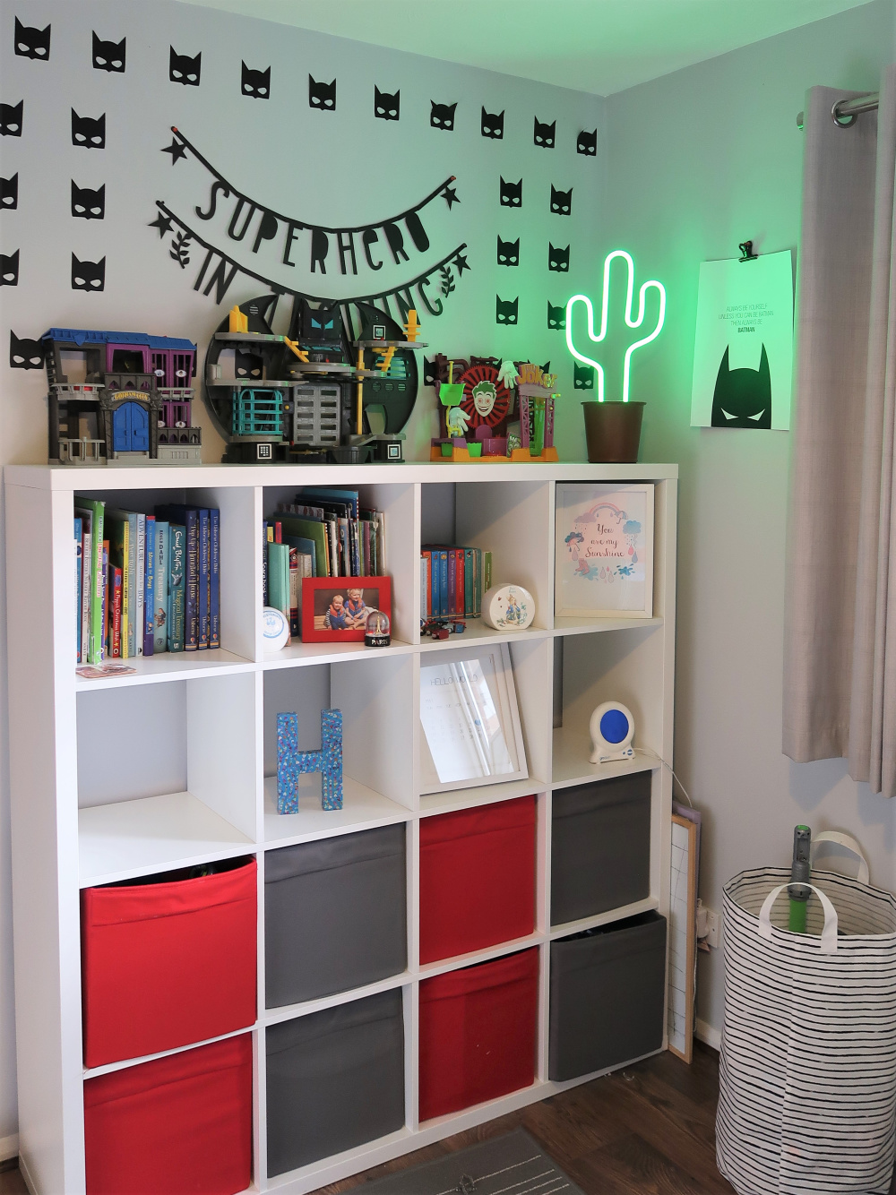 Child Superhero bedroom