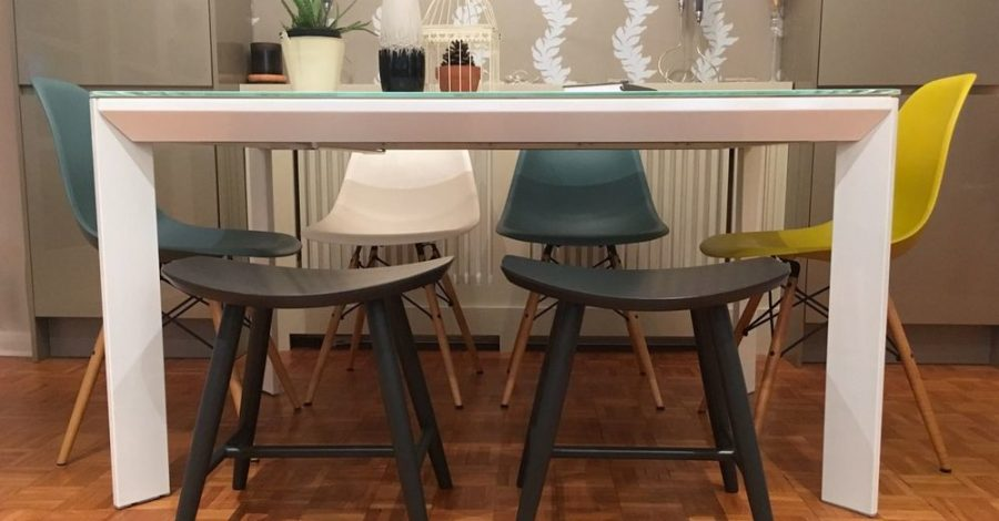 cult furniture stools dining room table