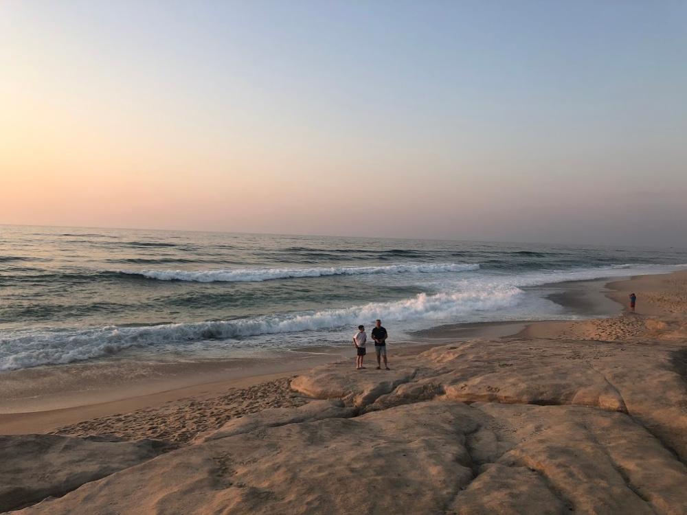 Praia del rey sunset